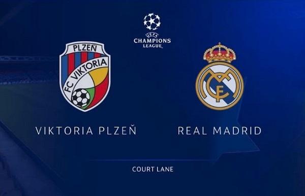 Nhận định Viktoria Plzen vs Real Madrid