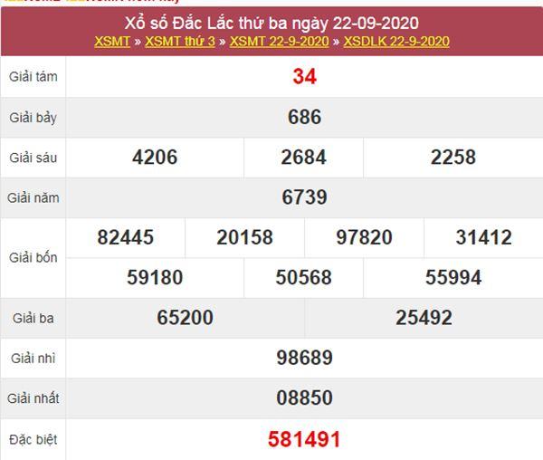 Phân tích XSDLK 29/9/2020 chốt số ĐăkLắc thứ 3 chi tiết
