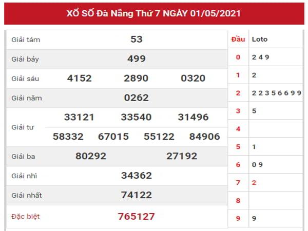 Nhận định KQXSDNG ngày 5/5/2021 dựa trên kết quả kì trước