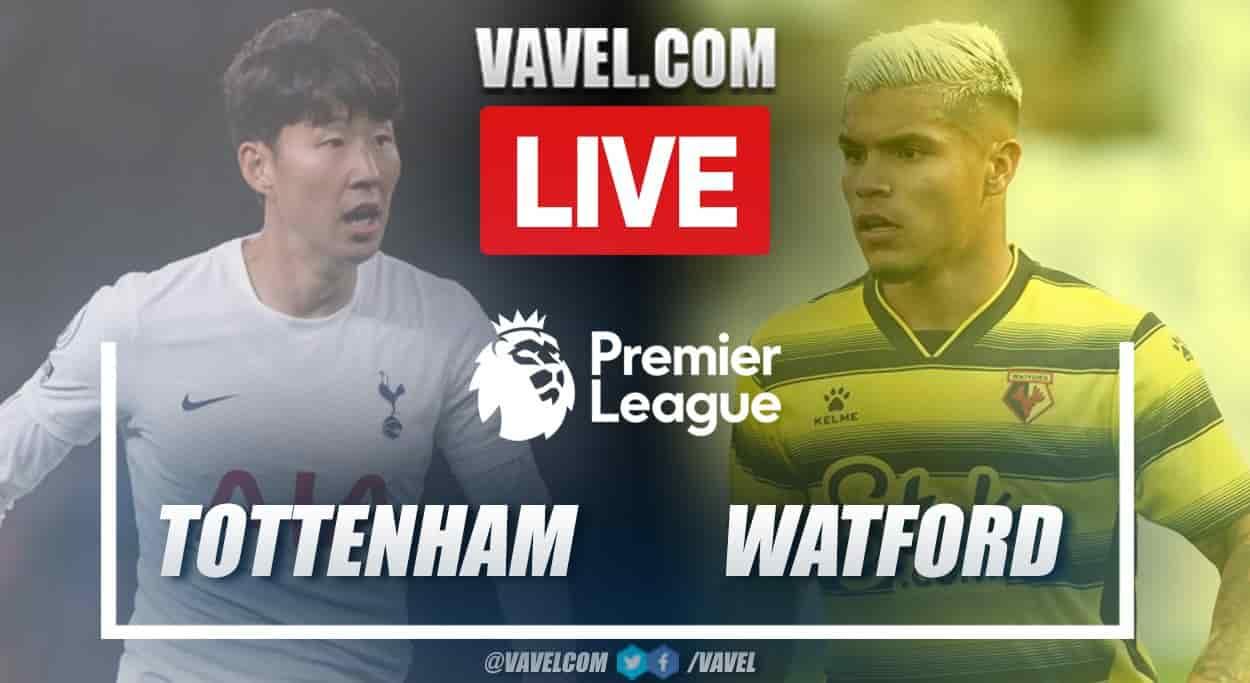 Kết quả bóng đá Tottenham 1-0 Watford với bàn thắng của Heung-min Son