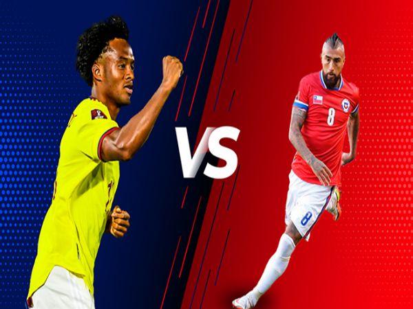 Soi kèo Colombia vs Chile, 06h00 ngày 10/9 - VL World Cup 2022